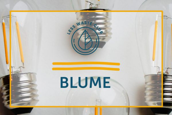 Less Waste Club Blume