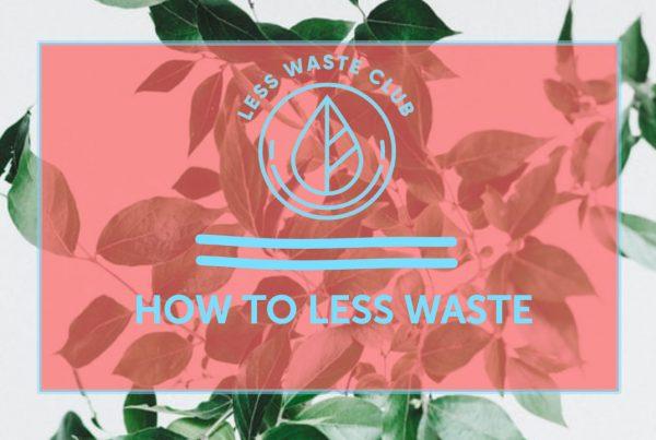 Less Waste Blog