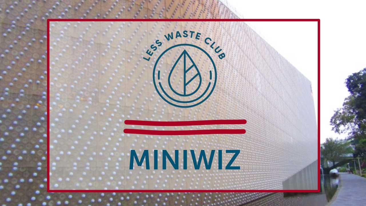 Less Waste Konzept: MINIWIZ