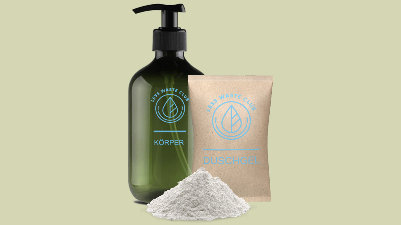 Duschpulver – das Duschgel aus Pulver
