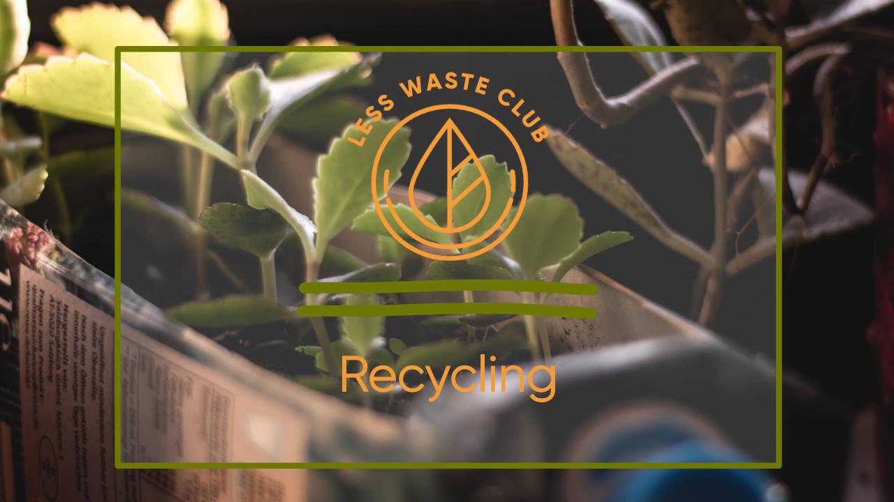 Recycling neu gedacht