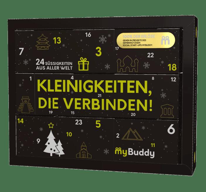 Weihnachtsgeschenk Idee Less Waste Club X mybuddy